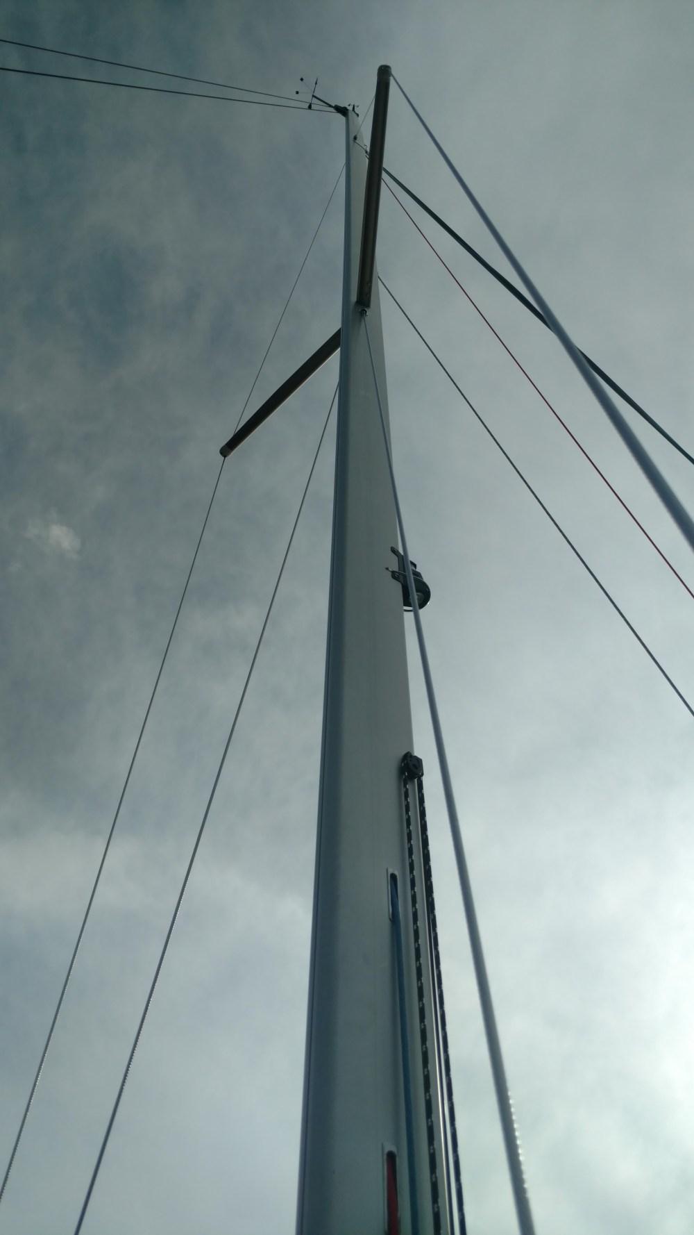 New mast for Omega 36