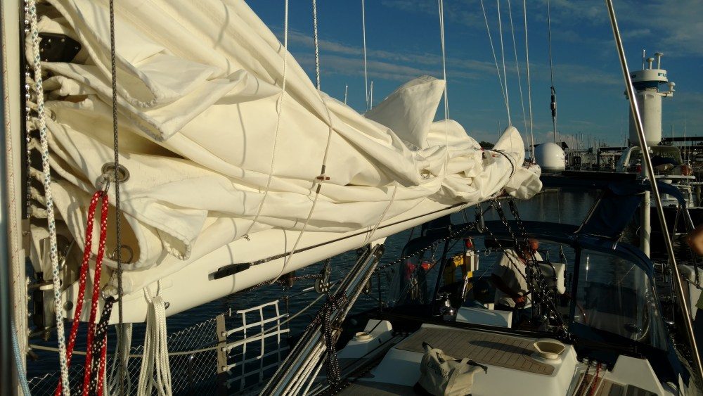 Nordic 44 with TRC 4-Leg Lazy Jacks, TRC Boom Preventer System, New Tides Track, New BSI Rod Rigging. New BSI Tangs. Complete Running Rigging Package. New Vang Lug. New Single Line Reef System. New Harken Reflex Top Down Spinnaker Furling System....with much more.