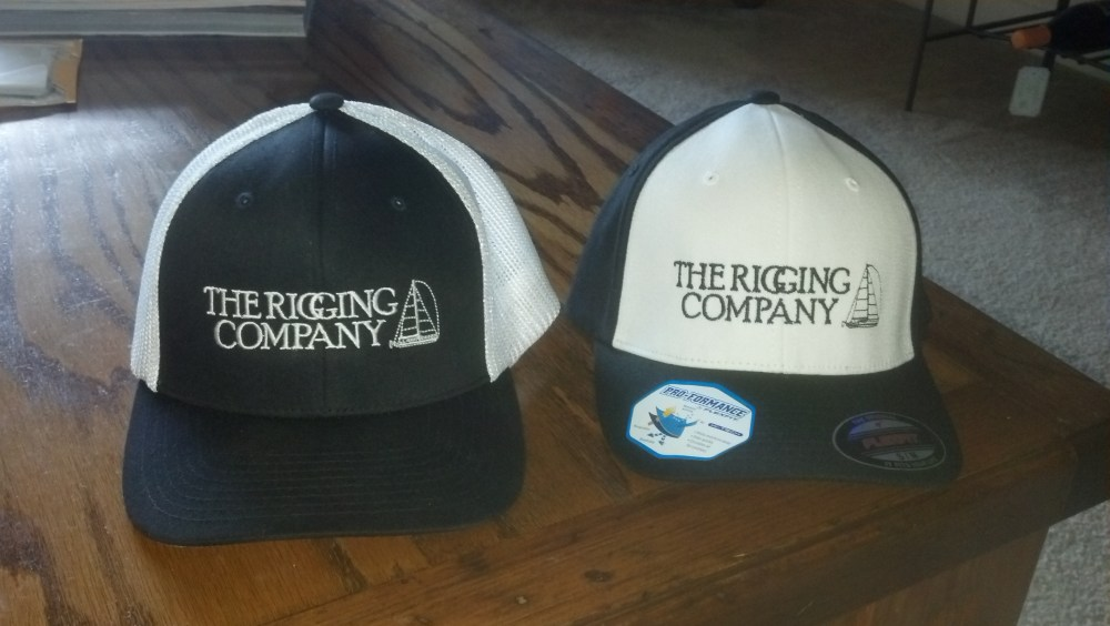 The Rigging Company HAT, riggers hat, sailboat rigging hat