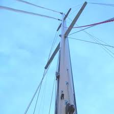 Mast and Rigging inspection