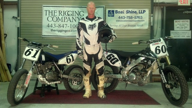 Sean Simmons and The Rigging Company CRF250R