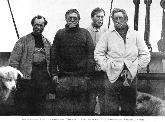 Earnest Shackleton and his close friends
