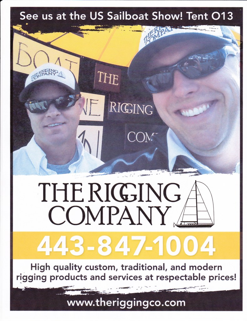 2012 ANNAPOLIS SAILBOAT SHOW, THE RIGGING COMPANY