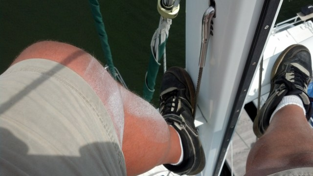 When to paint my mast