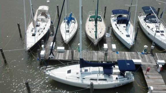 Baltimore Yacht Club Aloft