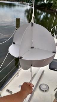 radar reflector mounting instrucitons. echomaster