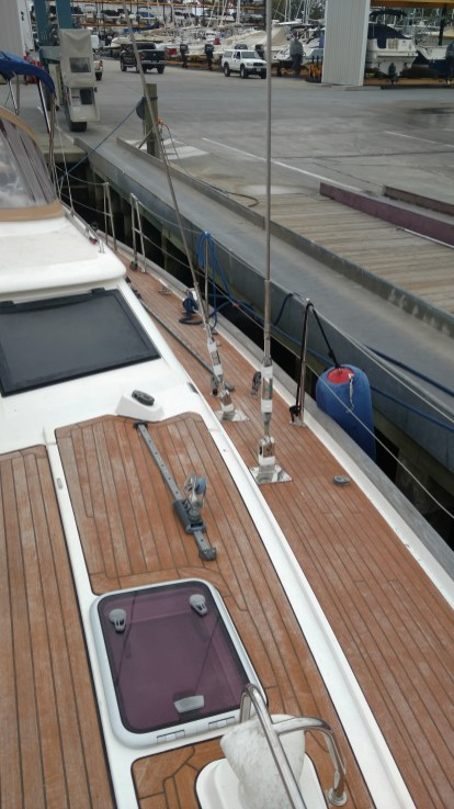 All new standing rigging. Oyster 56