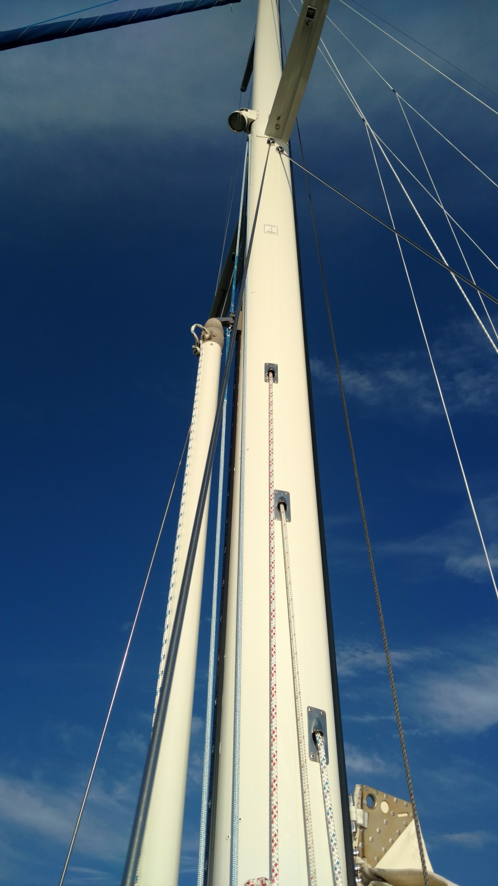 Nordic 44 refit all finished and sitting at Bert Jabins