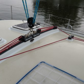 Apogee 58. Custom Harken Traveler System Completely Serviced