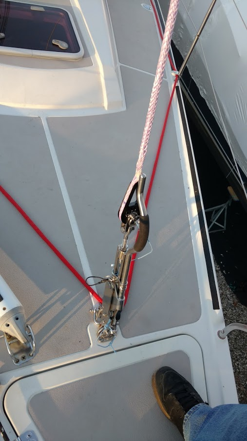 Dehler 39. Iffer Forestay/ Solent Stay System...the The Rigging Company Way