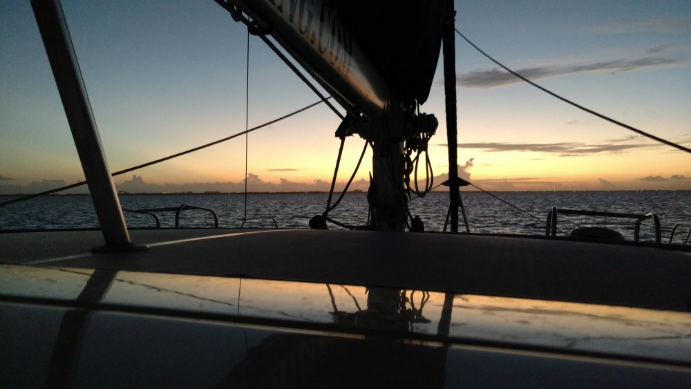 Finishing Up the Sea Trial in Grand Cayman Sound. All Systems are Operational.
