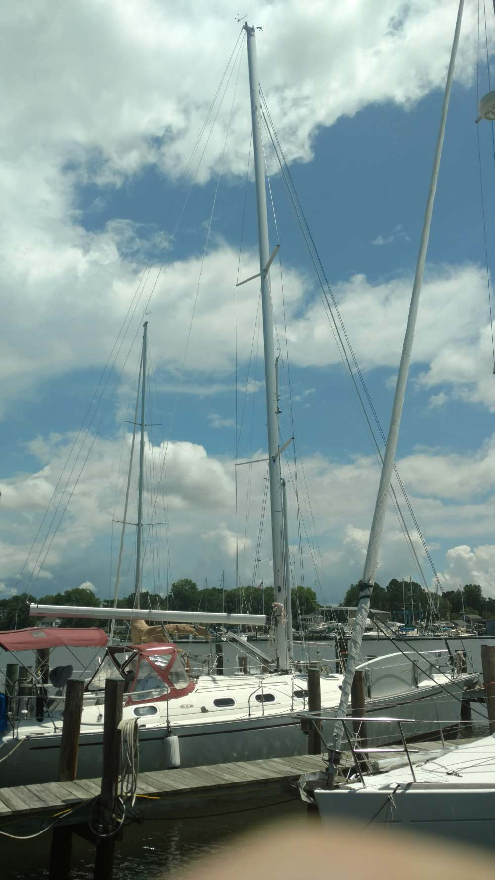 Dufour 43 Gibb Sea. Cutts and Case. Oxford, MD. The Rigging Company.