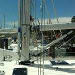 Brand New Deck Up System Custom TRCvia Selden Spars, with Forespar on-the-the mast whisker pole system