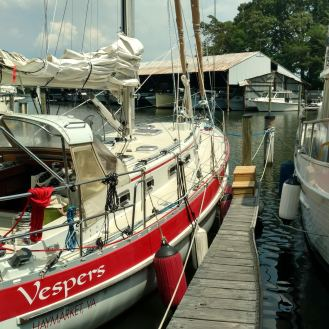 Valiant 42 refit The Rigging Company