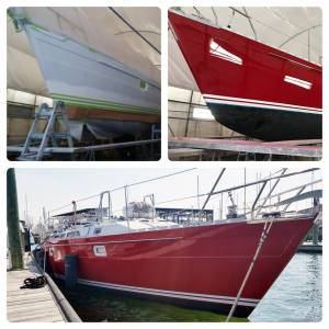 Noresman 400 Refinish in conjunction with Diversified Marine Services