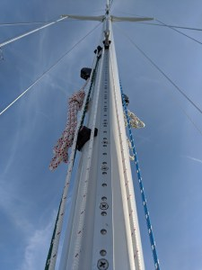MORGAN 382 ON THE MAST WHISKER POLE SYSTEM