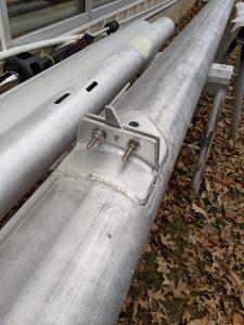 morgan oi 41 spreader brackets after welding