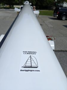The Rigging Company high quality mast painting