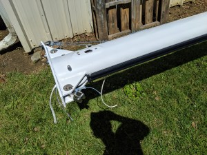 HICKLEY B40 CUSTOM SPARS AFTER PAINT