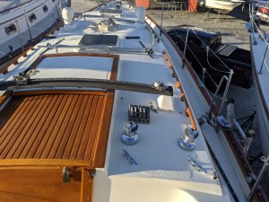 Pacific Seacraft 37. Paint. Standing Rigging. Lazy Jacks. Running Rigging.