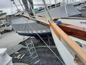 Lord Nelson 41 Bow Sprit