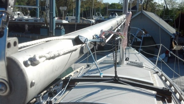 Catalina 26 Reefing System - Year of Clean Water