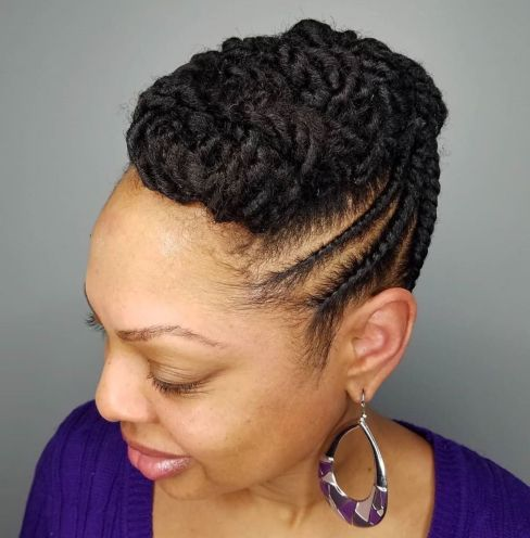 Image Result For Most Inspiring Natural Hairstyles For Short Hair In