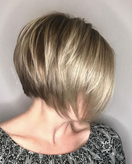 Stacked Bob For Fine Hair