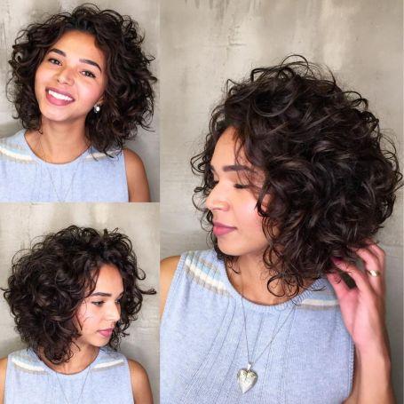 Wedge Curly Bob