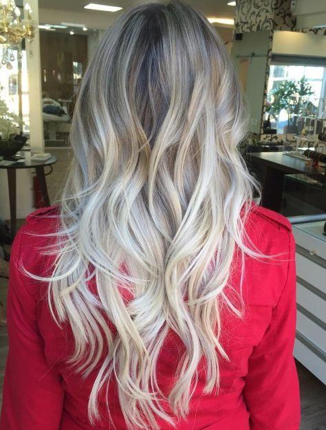 1 long layered blonde balayage hair