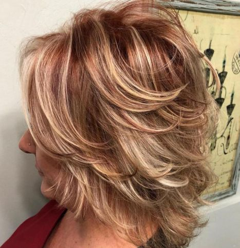 Over 50 Medium Hairstyle With Angled Layers