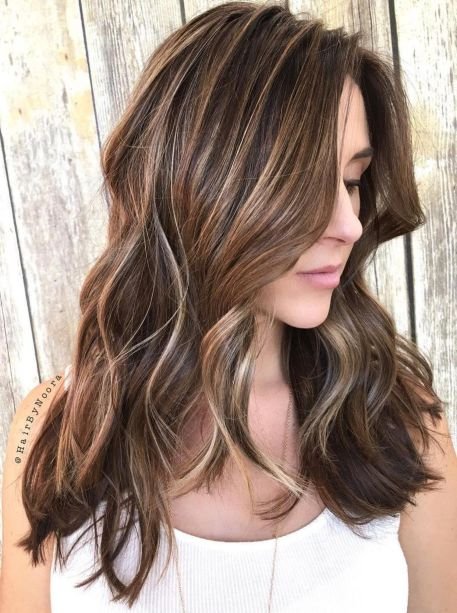 50 Light Brown Hair Color Ideas with Highlights and Lowlights - photo #21