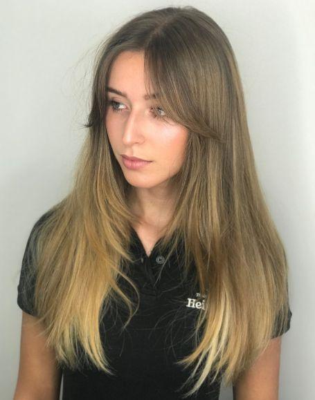 50 Cute Long Layered Haircuts with Bangs 2020