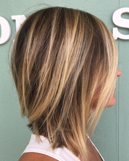 Easy Inverted Lob Hairstyle
