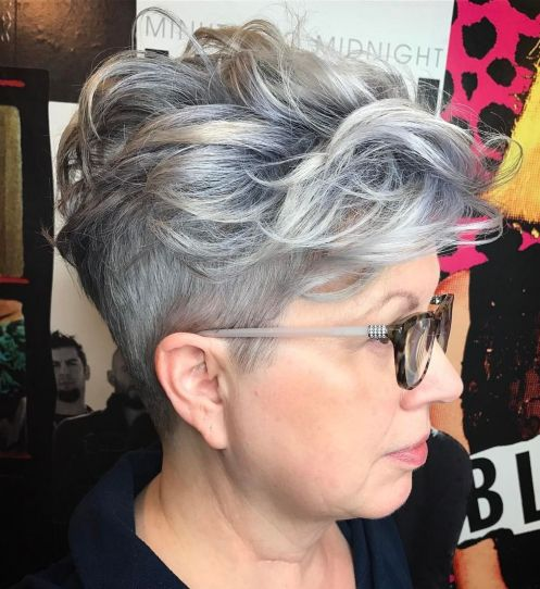 Sassy Pixie With Trimmed Sides And Long Top