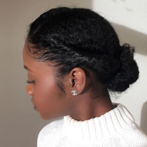 Simple Protective Updo