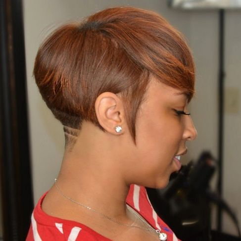 Short Tapered Hairstyle for Black Women