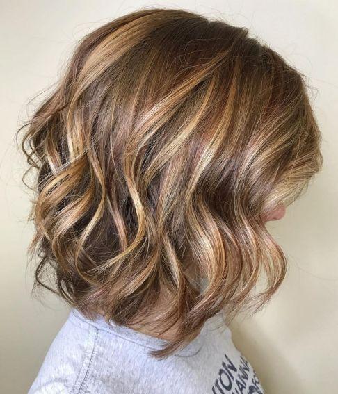 Lob With Big Curls
