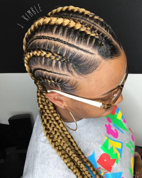 Excellent 70 Best Black Braided Hairstyles That Turn Heads In 2017 Short Hairstyles Gunalazisus