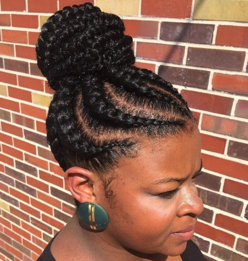 70 Best Black Braided Hairstyles That Turn Heads In 2019