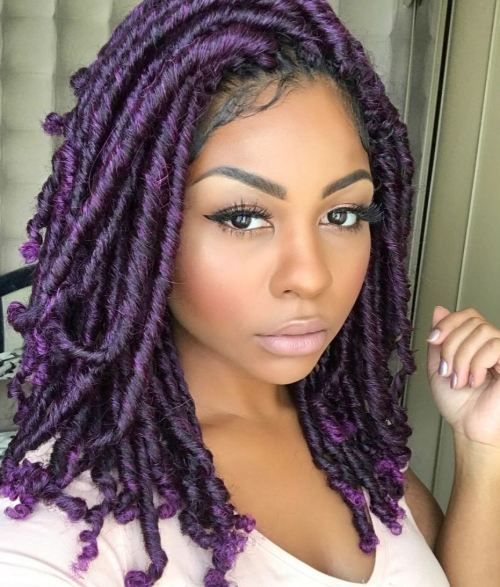 Beautiful Colored Fauxlocs