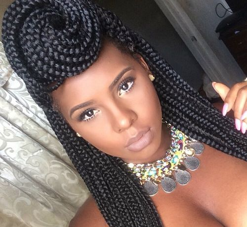 Awe Inspiring 50 Exquisite Box Braids Hairstyles To Do Yourself Hairstyles For Women Draintrainus