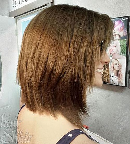 chopped medium haircut