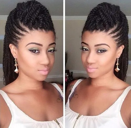 Astounding 70 Best Black Braided Hairstyles That Turn Heads In 2017 Hairstyles For Women Draintrainus