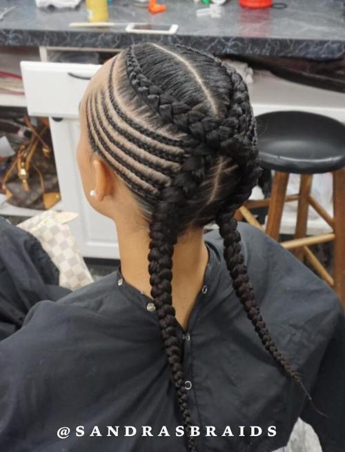 Criss-Crossed Braids
