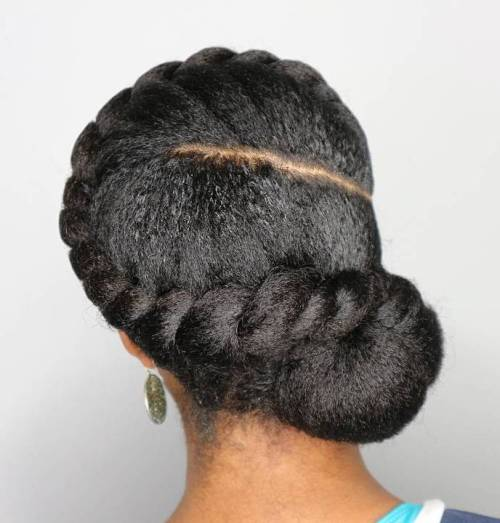 50 Easy and Showy Protective Hairstyles for Natural Hair – Page 19 ...