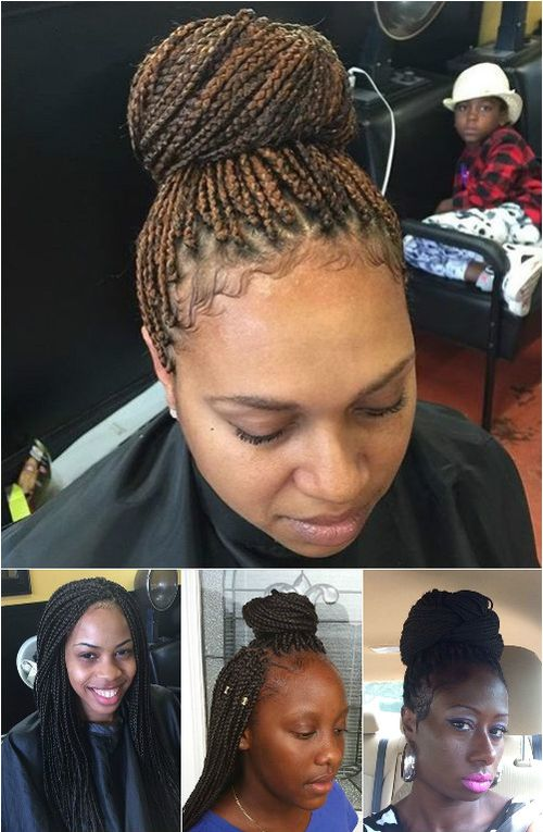 thin box braids hairstyles