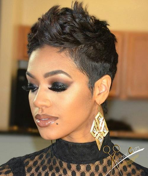 Prime 60 Great Short Hairstyles For Black Women Hairstyles For Men Maxibearus