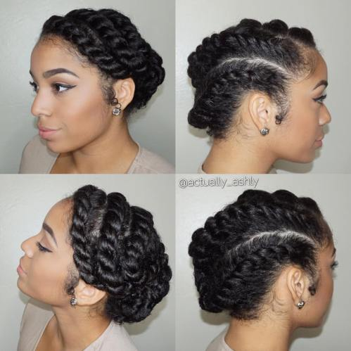 Enjoyable 60 Easy And Showy Protective Hairstyles For Natural Hair Schematic Wiring Diagrams Amerangerunnerswayorg