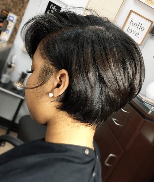 Short Black Bob Hairstyle